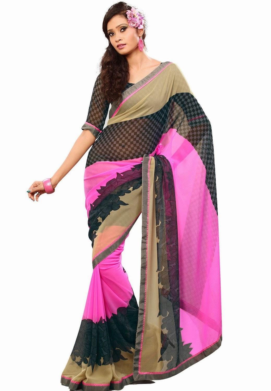 "b32643338e Buy Online Cotton Printed Saree · """