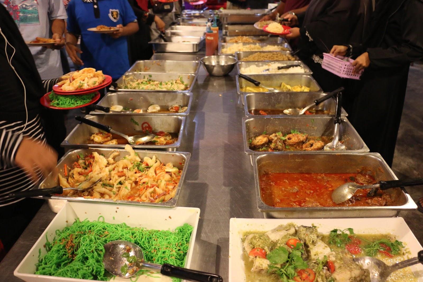 khlong hae seafood price, harga buffet, buffet seafood, masa operasi khlong hae buffet seafood, steamboat sedap di Hat Yai