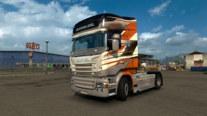 Scania RJL Stena Stal Skin