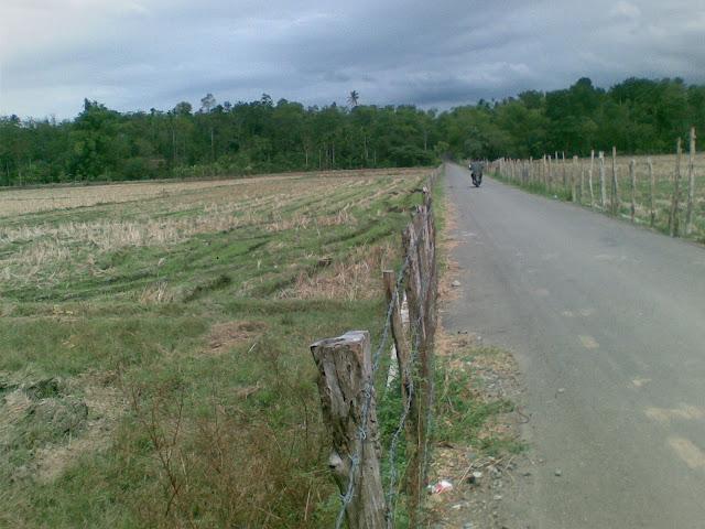 Lokasi Pembangunan Saluran Irigasi 450 Meter