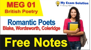 coleridge, romantic poets, wordsworth, romantic poets summary,