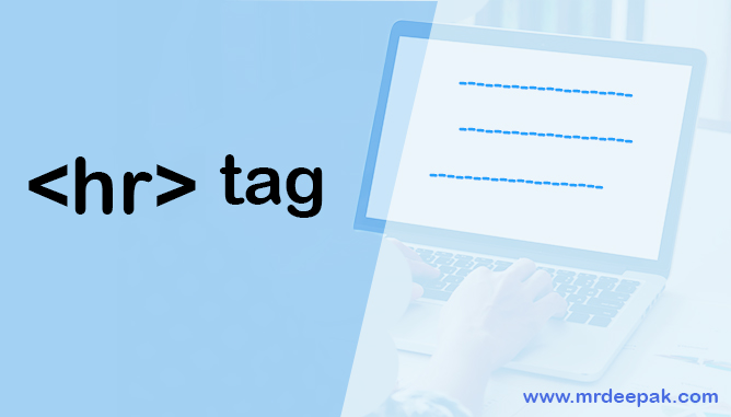 What is Horizontal Line using hr Tag in HTML