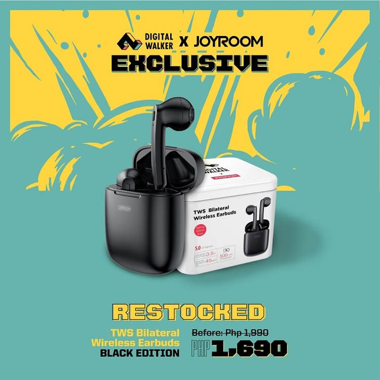Joyroom True Wireless Earbuds Limited Edition Now Available at Digital Walker