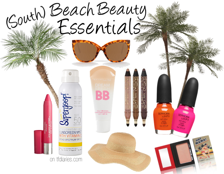 beach beauty essentials