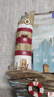decorar con madera de playa