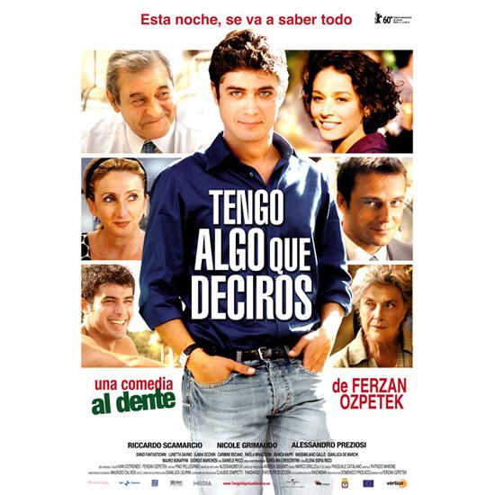 buenos días Roma - Cine italiano Tengo algo que deciros