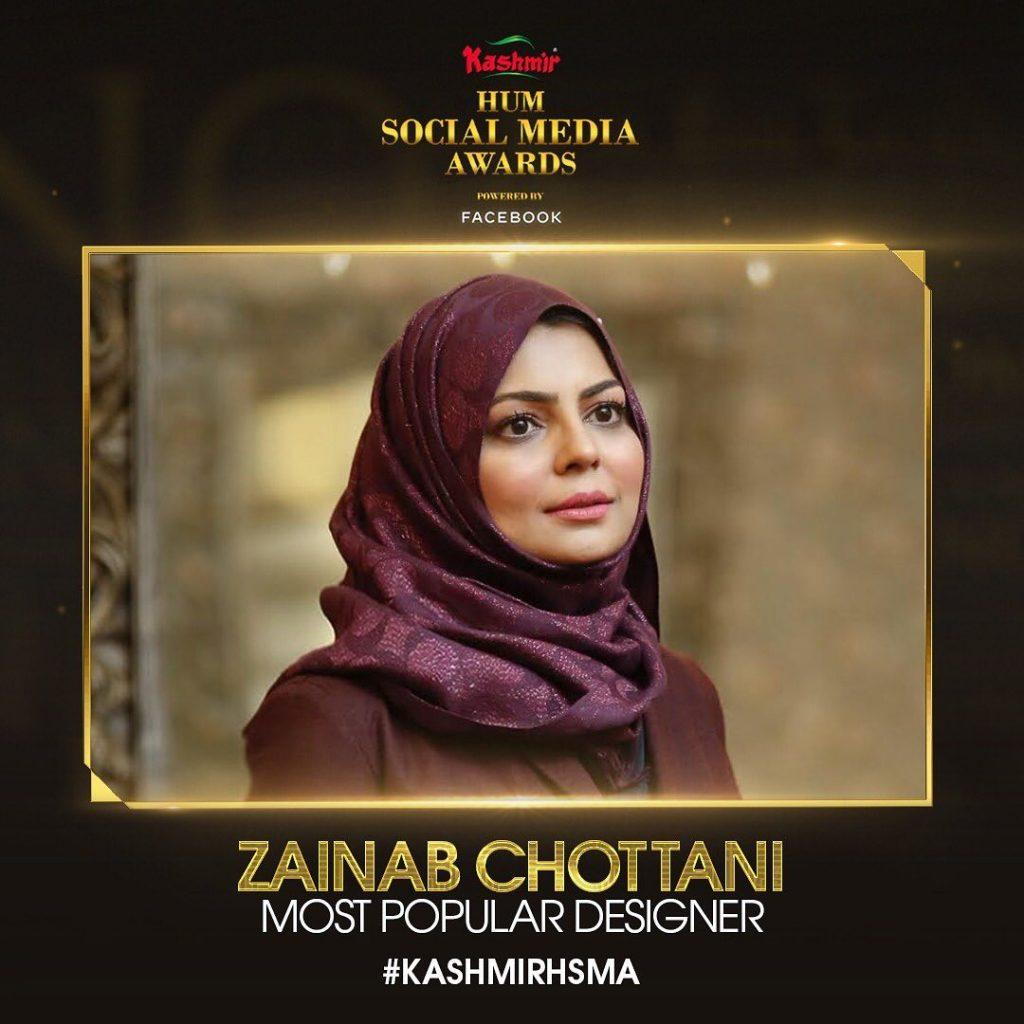 Hum Social Media Awards Winners