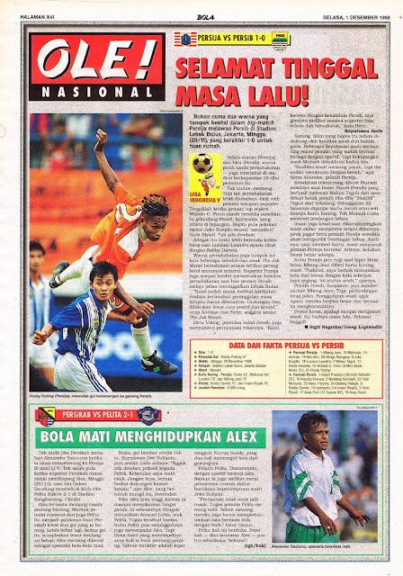 LIGA INDONESIA V PERSIJA JAKARTA VS PERSIB BANDUNG 1-0