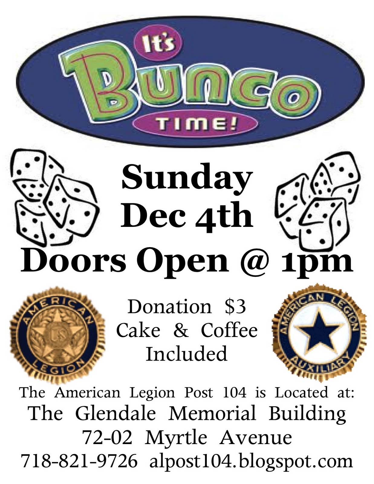 hight resolution of bunco fundraiser flyer jpg 1237x1600 march bunco clipart