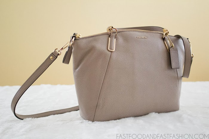 Review  Coach Madison Small Kelsey Satchel in Leather - Elle Blogs 2f706eb3426d0