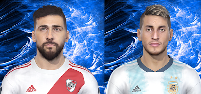PES 2019 Facepack Lucas Pratto & Roberto Pereyra by Fede