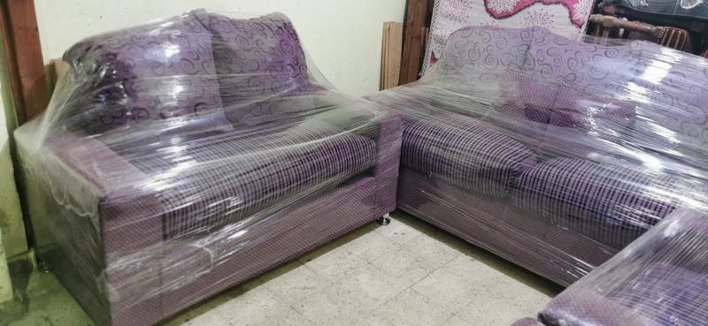 أنتريه مودرن مستعمل إستعمال خفيف بحاله الجديد أثاث مستعمل للبيع في القاهرة المطرية 4