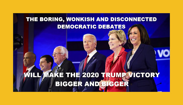 THE BORING, WONKISH AND DISCONNECTED DEMOCRATIC DEBATES
