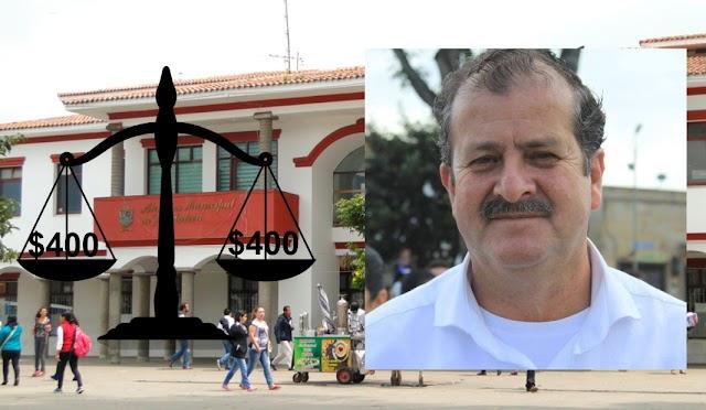 Más de $850 millones ha gastado el alcalde Malo García de Facatativá en blindaje jurídico