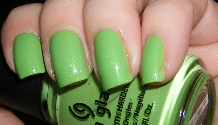 xoxoJen's swatch of China Glaze Entourage