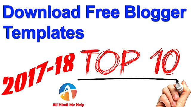 Blogger Ke Liye 10 Best Free Template