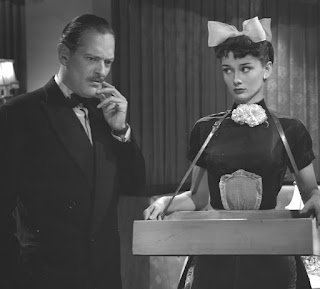 Laughter in Paradise - Guy Middleton and Audrey Hepburn