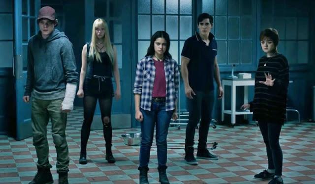 'Los nuevos mutantes' de Marvel con Maisie William, Anya Taylor-Joy y Charlie Heaton
