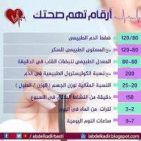 ارقام تهم صحتك
