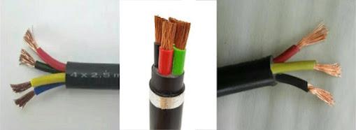Singkatan jenis kabel NYYHY