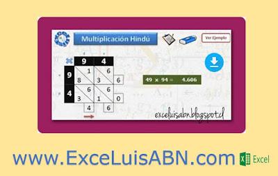 Multiplicación Hindú, Versión 2.0.