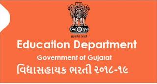 Vidyasahayak Bharti Waiting List for Document Verification 2018-19