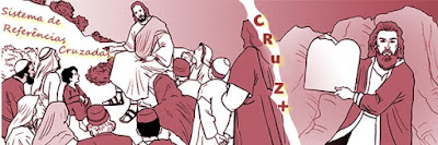 """Imagens de JESUS ensinando no monte. dando início ao Sistema de Referências Cruzadas """"CRUZ+"""""""