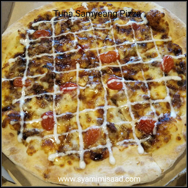 Tuna Samyeang Pizza
