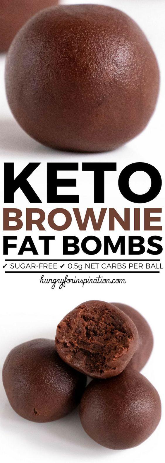 Velvety No Bake Keto Brownie Bites