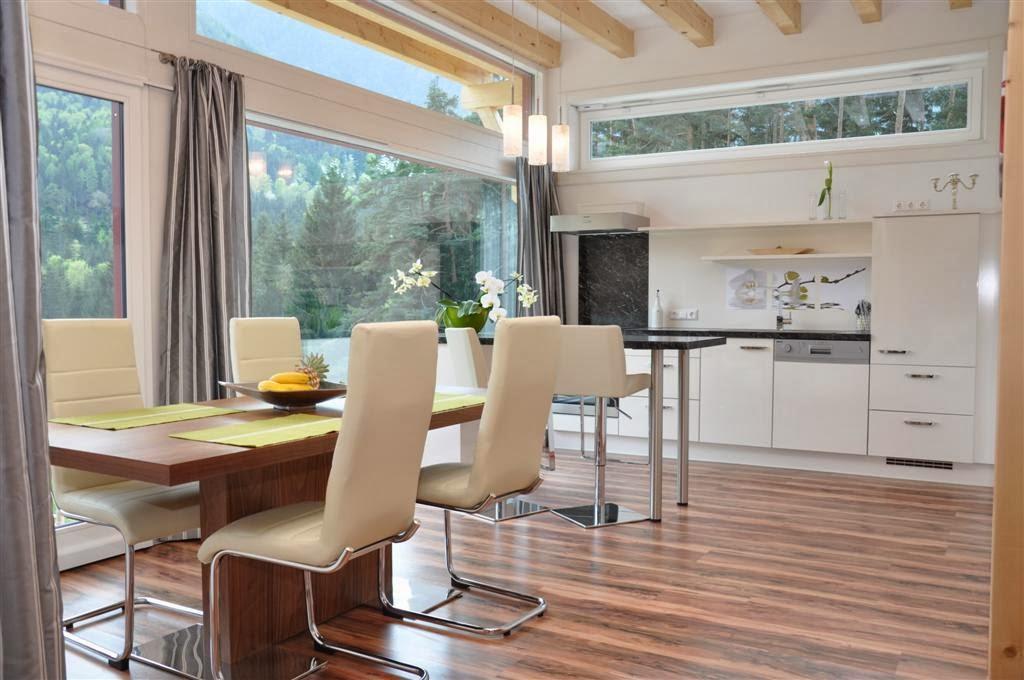 Fotos de cocina y comedor juntos colores en casa - Como decorar una cocina comedor ...