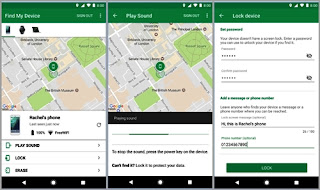 cara lacak HP Android via find my device