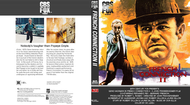 The French Connection II (1975) Bluray Cover