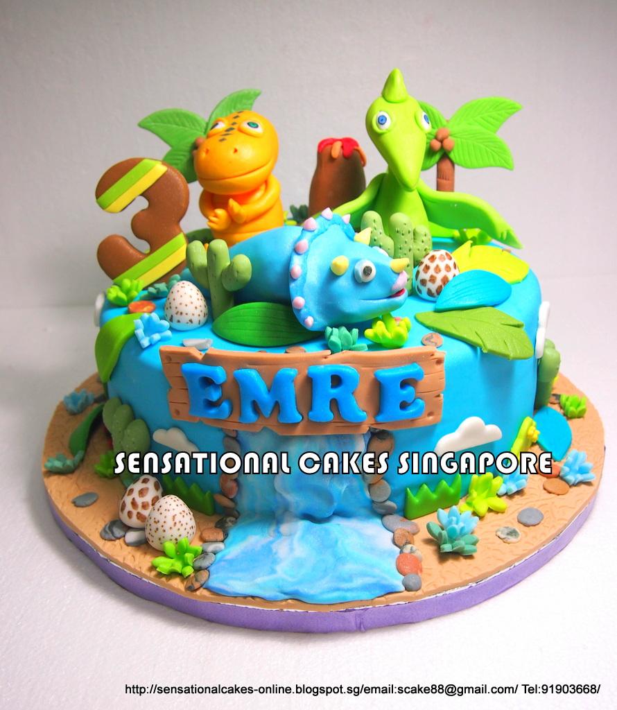 The Sensational Cakes Dinosaur Train Cake Singapore