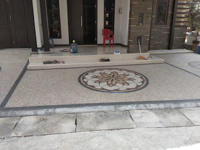 Jasa pembuatan lantai carport garasi