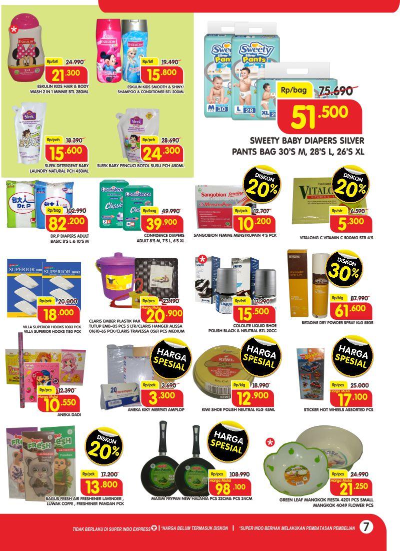 #Superindo - Promo Katalog Super Irit Awal Tahun Periode 10 - 16 Januari 2019