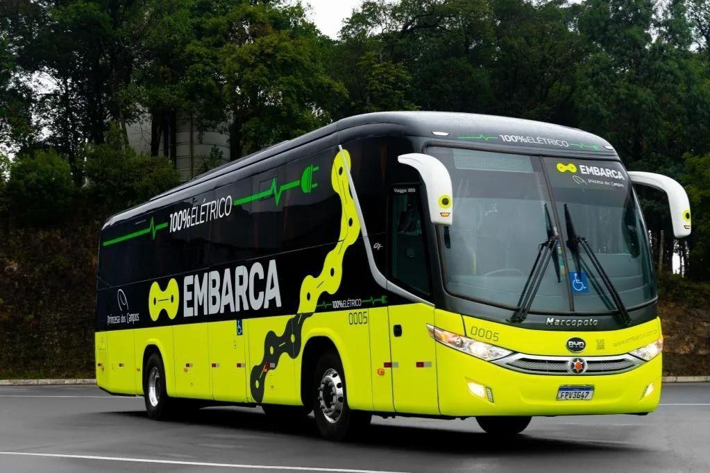Empresa avalia circulação de ônibus 100% elétrico no Paraná