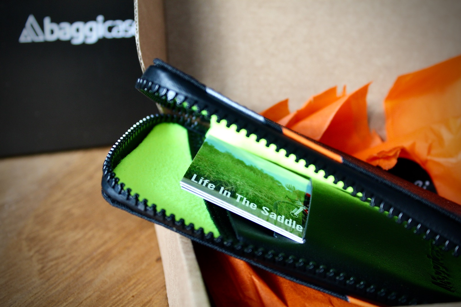 Baggicase Cycling Phone Wallet Case Review | Tim Wiggins