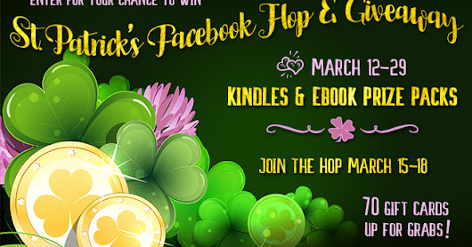 St. Patrick's Facebook Hop and Giveaway - Win a $10 Amazon Card