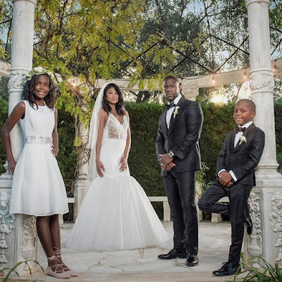 kevin hart wedding