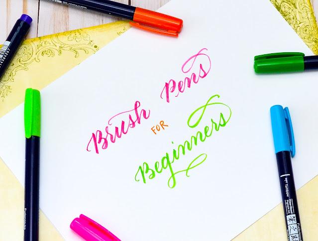 best brush pens for beginners