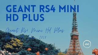 Geant Rs4 Mini HD Plus