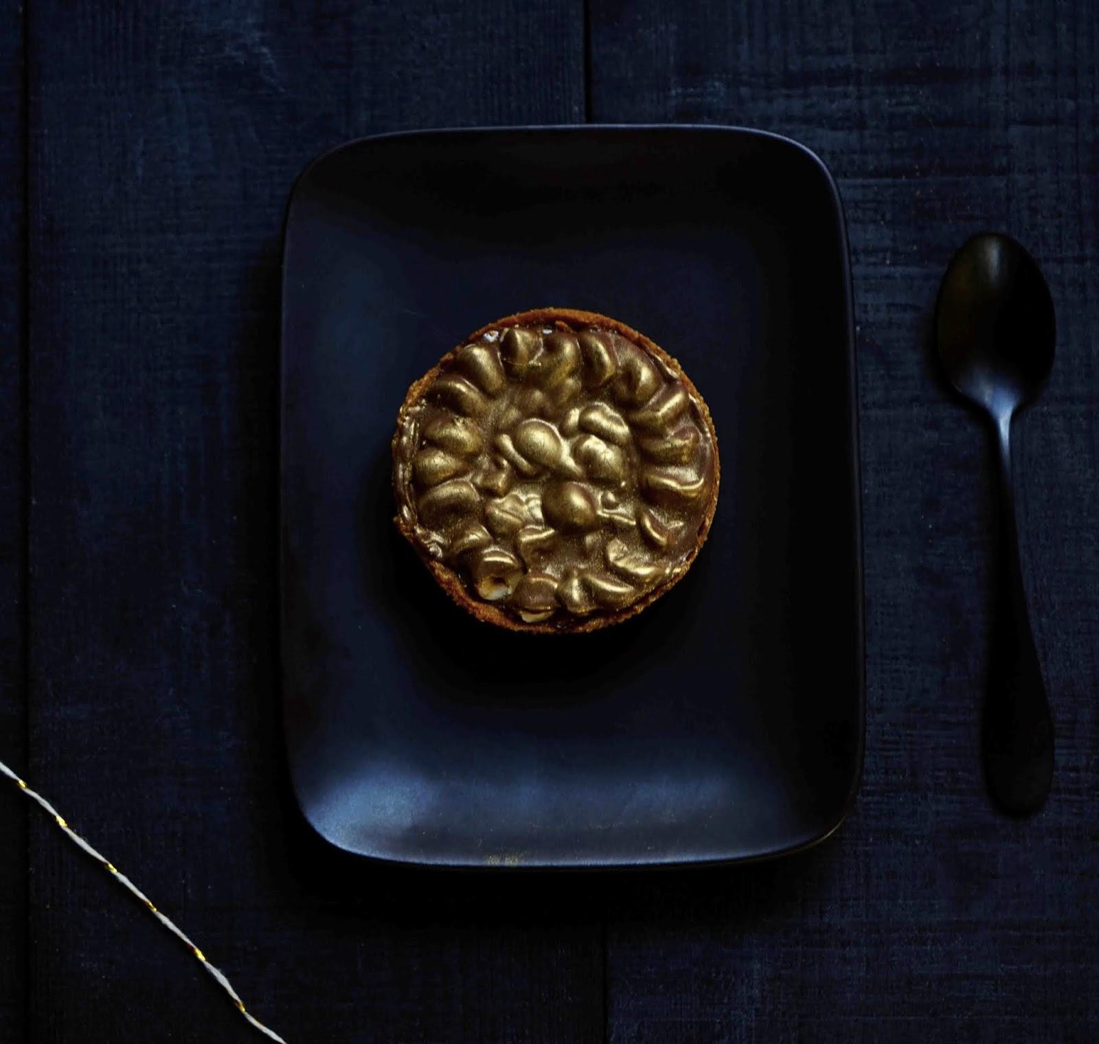 tarte gianduja , dessert chic , tartelette de Fauchon , praliné , gianduja