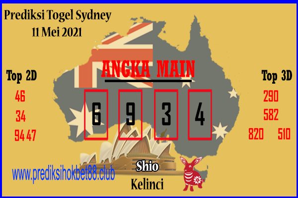 Bocoran Togel Sydney 11 Mei 2021