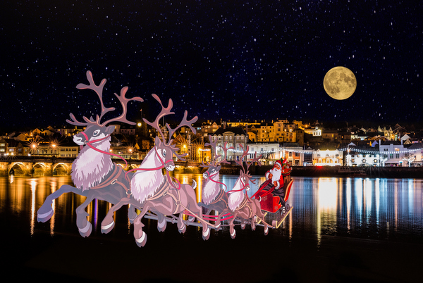 Glad  tidings from Bideford. Photo credit B. Adams