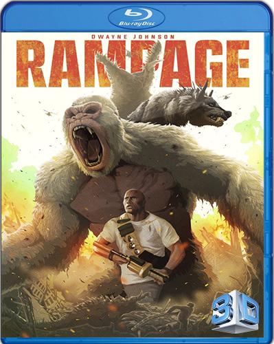 Rampage [2018] [BD50] [Latino] [3D]