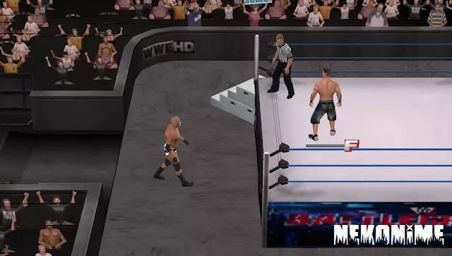 WWE 2k18 Mod Gameplay Screenshot