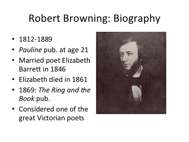an overview of robert browning as one of the most talented poets of the victorian period 24082018 a short robert browning  , the two poets  many people began to lose faith in religion as various new scientific theories rocked society—most.
