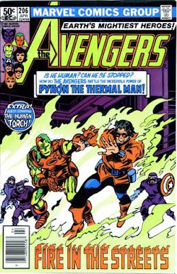 Avengers #206