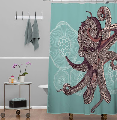 Bath-Cotton-Octopus-Shower-Curtain-Ikea