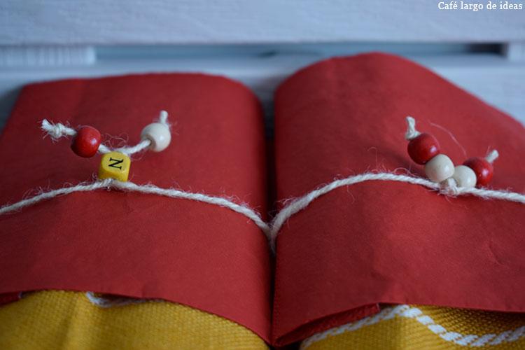 Servilleteros handmade navideños